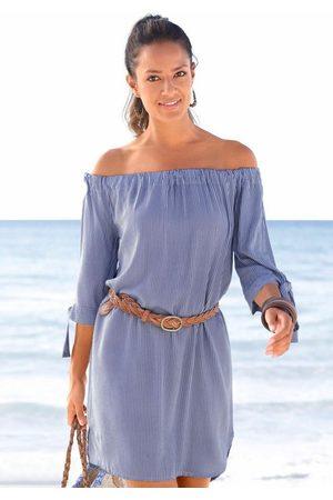 Lascana Blusenkleid mit Streifendruck