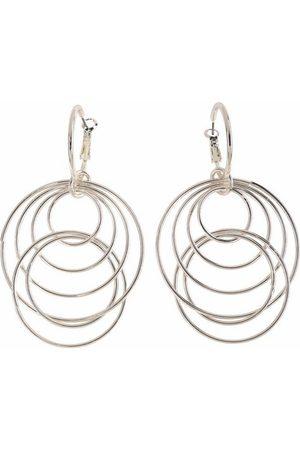 J. Jayz Paar Ohrhänger »mit beweglichen Ringen« (1-tlg)