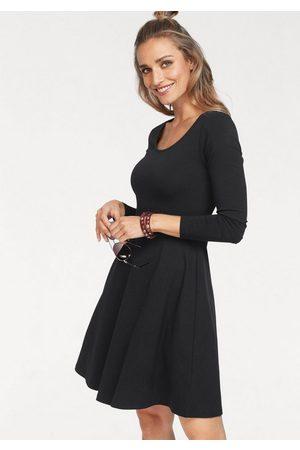 Aniston Jerseykleid mit Blumendruck oder in uni