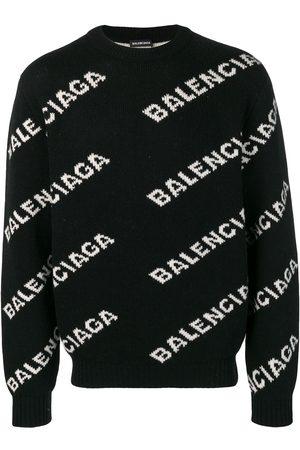 Balenciaga Herren Strickpullover - Pullover mit Logo