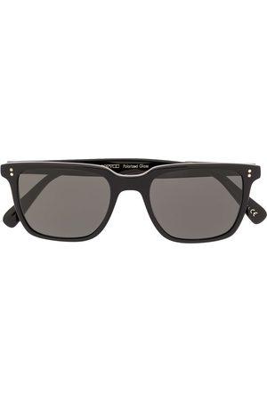 Oliver Peoples Herren Sonnenbrillen - Eckige 'Lachman Sun' Sonnenbrille