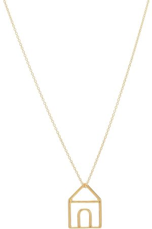 Aliita Halskette Casita Pura aus 9kt Gelbgold