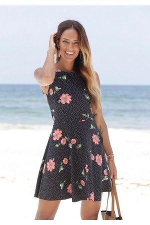 beachtime Strandkleid mit dezenten Pünktchen