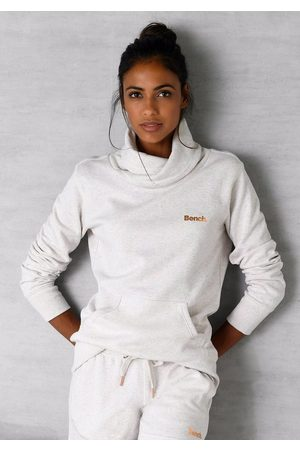 Bench Sweatshirt mit Stehkragen in Layeroptik