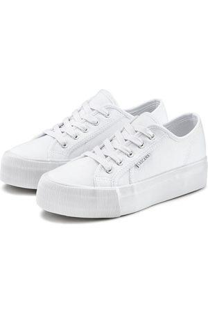 Lascana Sneaker aus Textil mit Plateausohle
