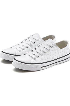 Lascana Sneaker aus Textil mit Sternenprint