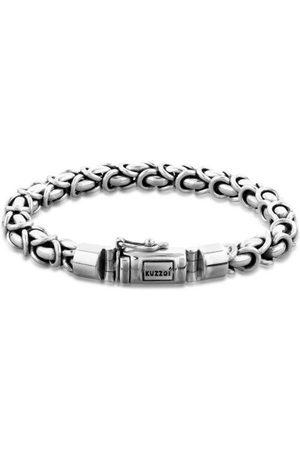 Kuzzoi Armband »Herren Panzerarmband Königskette Basic 925 «