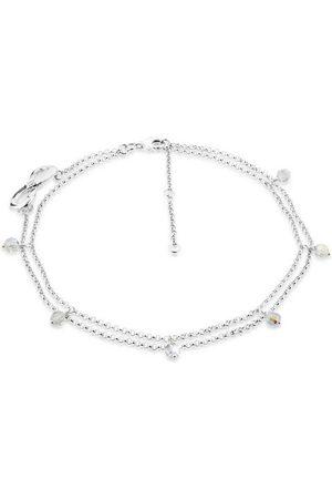 Nenalina Fußkette »Infinity Swarovski® Kristalle Zirkonia 925 «