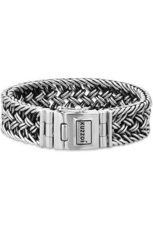 Kuzzoi Armband »Herren Silber Maskulin Oberfläche oxidiert«