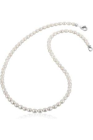 Nenalina Perlenkette »Zeitlos Klassik Süßwasserzuchtperlen 925 «