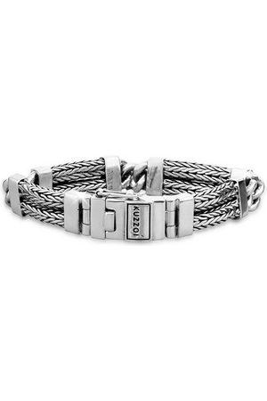 Kuzzoi Armband »Herren Panzer Gliederarmband Modern 925 Silber«