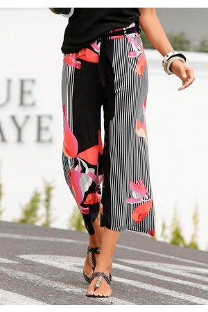 Lascana Culotte mit Streifendesign