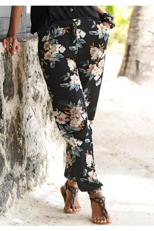 Lascana Strandhose mit Blumendruck
