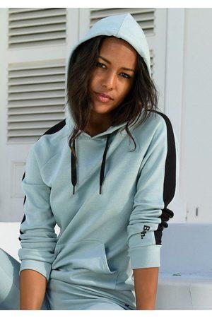 Bench Kapuzensweatshirt mit Seitenstreifen und Kängurutasche