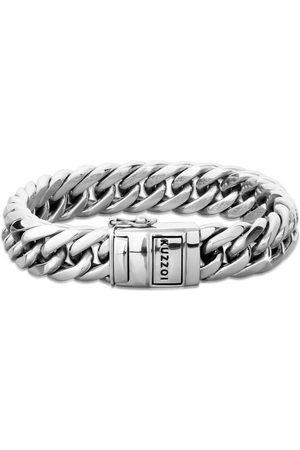 Kuzzoi Armband »Herren Panzerarmband Kastenverschluss 925er «