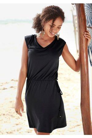 Lascana Strandkleid mit Zierband am Rücken