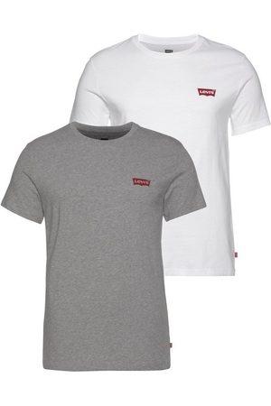 Levi's T-Shirt (2-tlg., 2er-Pack) mit Marken-Label