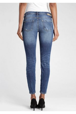 Gang Skinny-fit-Jeans »Faye« mit Destroyed-Effekten