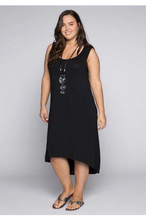 Sheego Jerseykleid in leicht ausgestellter Form