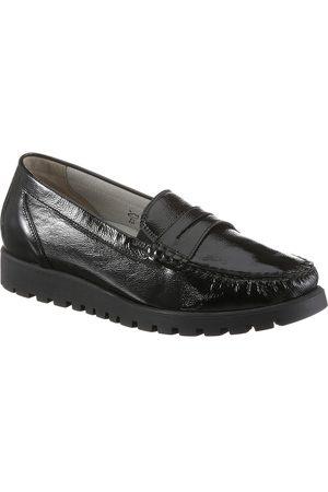 Waldläufer »HEGLI« Slipper aus Lackleder, in komfortabler Schuhweite H