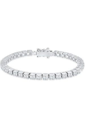 Elli Armband »Tennisarmband mit Zirkonia Kristalle 925 «