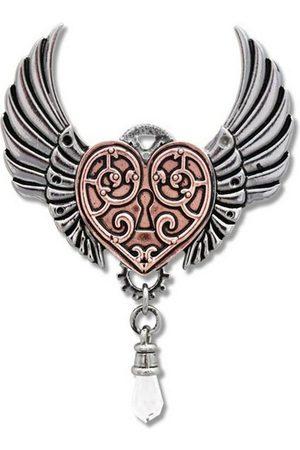 Adelia´s Amulett »Anne Stokes Engineerium Talisman«, Walküre Herz - Für das Herz eines Kriegers