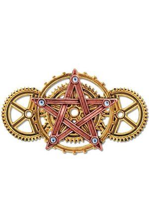 Adelia´s Amulett »Anne Stokes Engineerium Talisman Brosche«, Penta Meridia - Für Ausgeglichenheit und Entwicklung