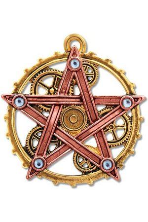 Adelia´s Amulett »Anne Stokes Engineerium Talisman«, Penta Meridia - Für Ausgeglichenheit und Entwicklung