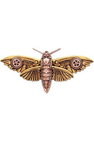 Adelia´s Amulett »Anne Stokes Engineerium Talisman Brosche«, Magradores Falter - Für persönliche Transformation