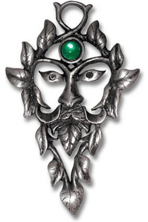 Adelia's Amulett »Greenwood Talisman«, Green Man - Naturmagie