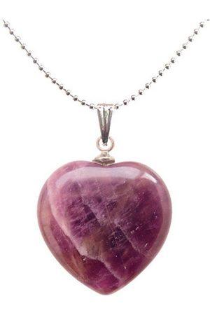 Adelia´s Amulett »Herz Steinanhänger«, Amethyst Herzanhänger - regt Phantasie an