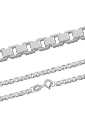 Firetti Silberkette »Venezianerkette, glanz, rhodiniert, diamantiert, massiv«