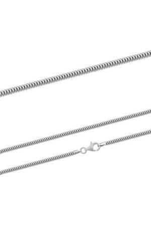 Firetti Silberkette »Schlangenkette, glanz, rhodiniert, massiv«