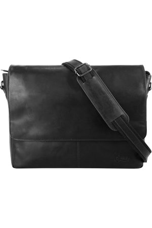 X-zone Messenger Bag (1-tlg), vegetabil gegerbt