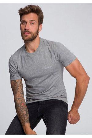 Calvin Klein Herren T-Shirts - T-Shirt »COTTON CHEST LOGO« kleiner - Schriftzug