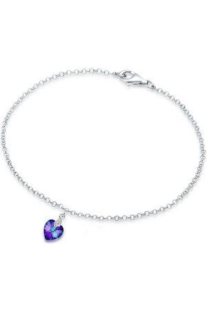 Elli Armband »Herz Swarovski Kristalle 925 Sterling Silber«