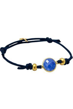 Gemshine Wickelarmband »Knoten blauer Saphir in 925 Silber - Made in Germany«