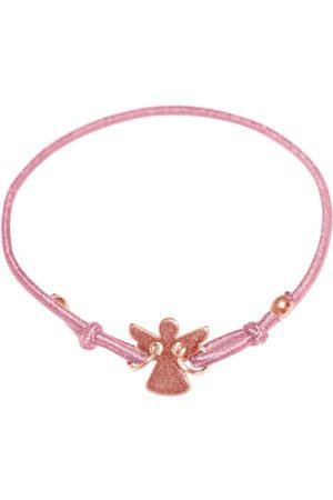 Gemshine Wickelarmband »Knoten Damen oder Mädchen mit Engel - Made in Deutschland«
