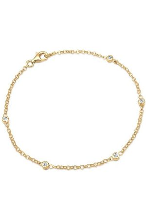 Elli Armband »Klassisch Basic Swarovski® Kristalle 925 «