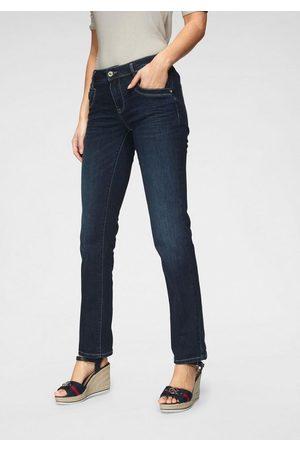 TOM TAILOR Gerade Jeans mit Kontrastnähten