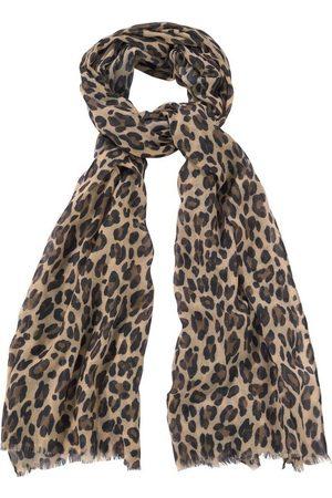 J. Jayz Modeschal Leichter Schal mit Leo Muster, Animal Print