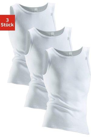 Clipper Unterhemd (3 Stück), mit Komfortschnitt, hinten etwas länger - in Doppelripp