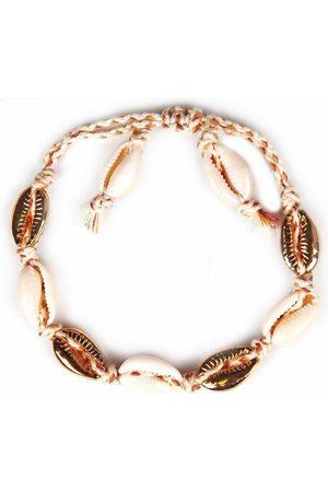 """J. Jayz Armband »geflochtenes Band, teilweise mehrreihig, mit Muschelelementen«, mit Süßwassermuscheln """"Naiad"""""""