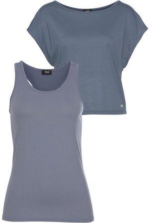 H.I.S T-Shirt »Yoga Shirt« (Set, 2-tlg., mit Top) im Set