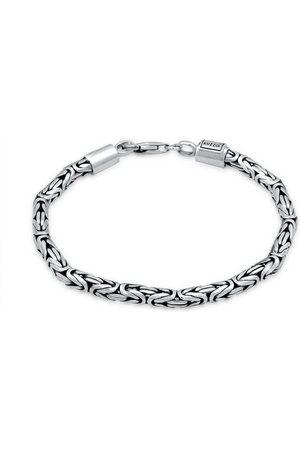 Kuzzoi Armband »Herren Königskette Robust 925 «