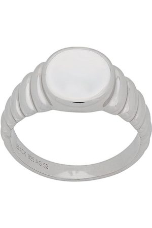 Maria Black Wave' Ring