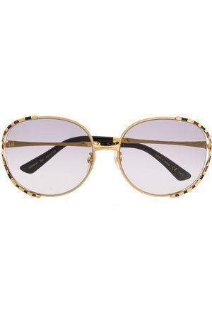 Gucci Gestreifte Sonnenbrille