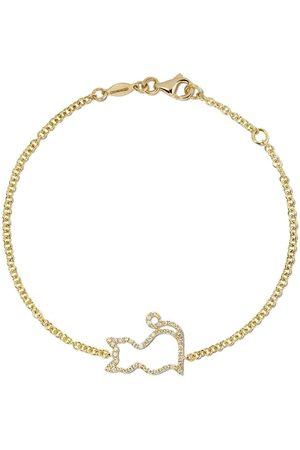 Kiki Mcdonough 18kt 'Memories' Gelbgoldarmband mit Diamanten