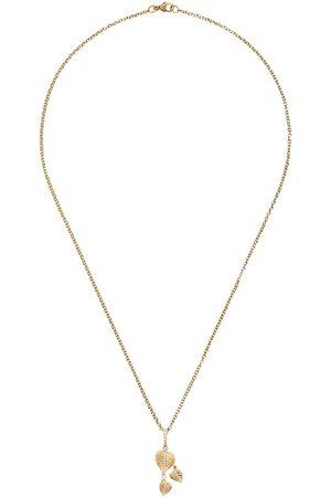 Kiki Mcdonough Halskette mit Blattmotiv