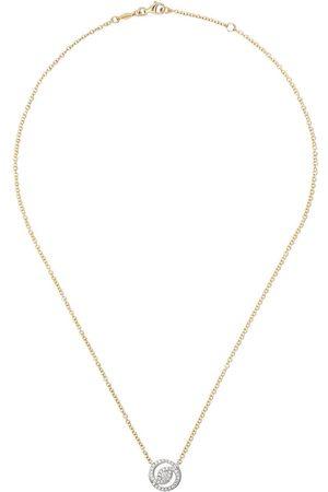 Kiki Mcdonough 18kt - und Weißgoldhalskette mit Diamanten
